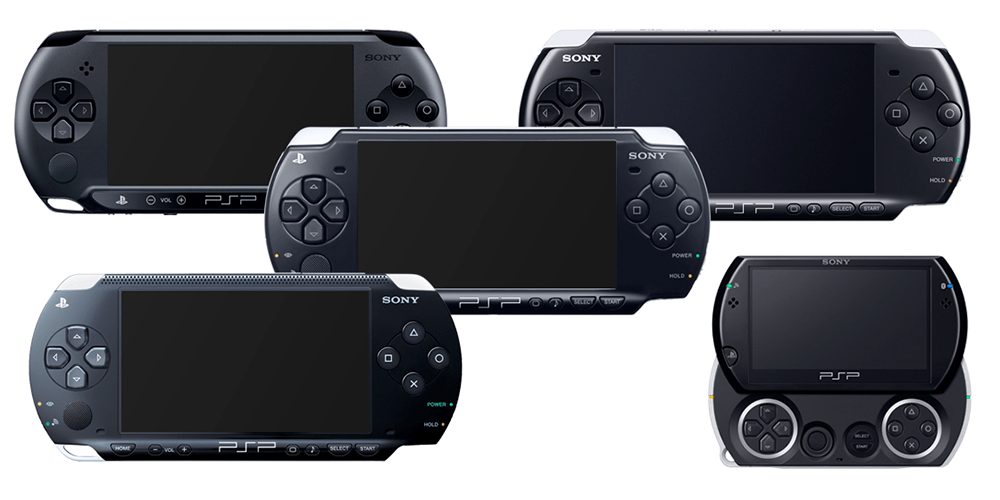 PSP Family Of Consoles